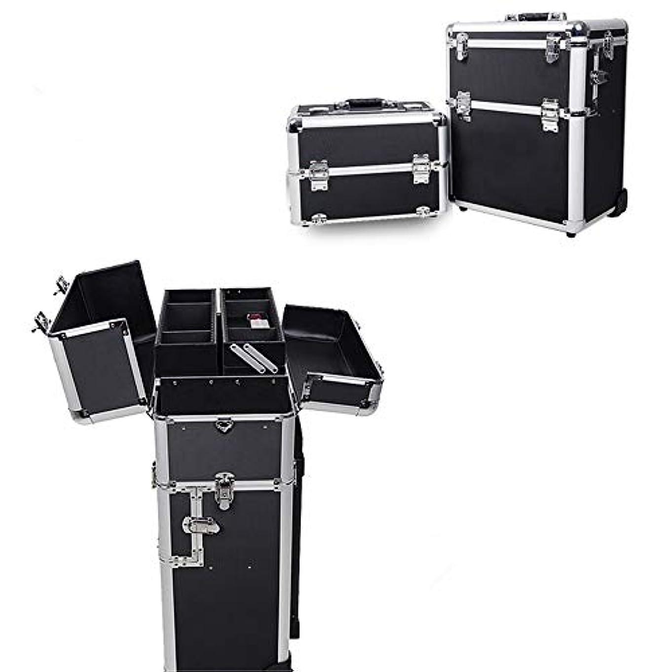 ふりをする不倫イル化粧オーガナイザーバッグ 旅行メイクバッグ3層スーツケースメイク化粧品バッグポータブルトイレタージュ化粧ケース 化粧品ケース
