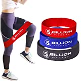 5BILLION Resistance Hip Exercise Bands - for Booty, Thigh & Glutes - Soft & Non-Slip Design Loop Set