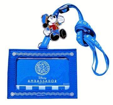 アンバサダーホテル ネックストラップ付きパスケース AMBA...