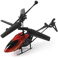 Bolayu Mini RC Helicopter Radio Remote Control Aircraft Micro 2 Channel [並行輸入品]