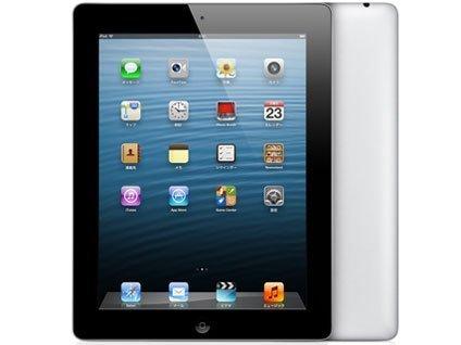 アップル 第4世代 iPad Retinaディスプレイモデル Wi-Fiモデル 64GB MD512J/A ブラック MD512JA