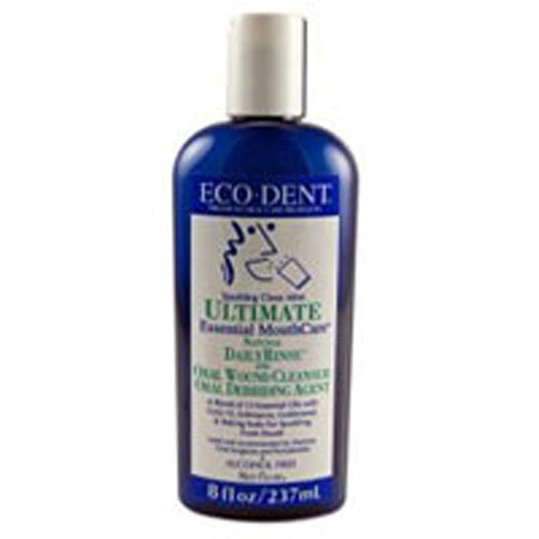 啓示防衛持参Eco-Dent International - Ultimate Natural Dailyrinse Clean Mint, 8 fl oz liquid by Eco-Dent