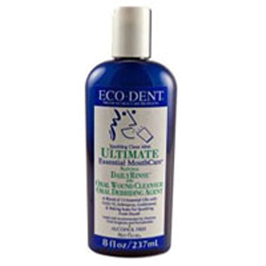 酔っ払い修士号絶望的なEco-Dent International - Ultimate Natural Dailyrinse Clean Mint, 8 fl oz liquid by Eco-Dent