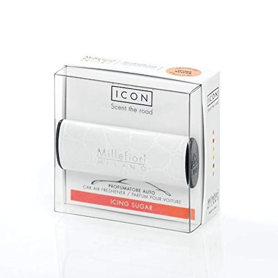 破壊的ホスト代わりのミッレフィオーリ(Millefiori) カーエアフレッシュナー ICON URBAN 12 - アイシングシュガー(ICING SUGAR) [並行輸入品]