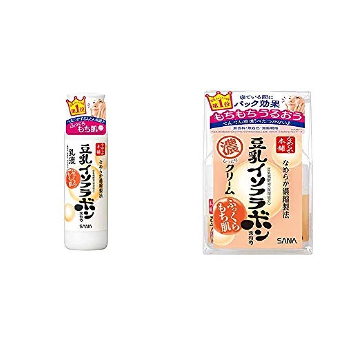 にはまって散歩ウミウシ【Amazon.co.jp限定】なめらか本舗 乳液 大容量タイプ 200ml & なめらか本舗 クリームNA 50g