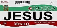 メキシコサカテカスフォトライセンスプレートフリーPersonalization onこのプレート