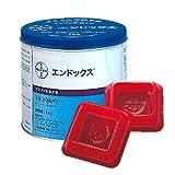 【お得セット】業務用殺鼠剤 医薬部外品 エンドックス 1缶(1kg)+毒餌皿(20枚入)セット
