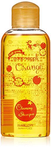 ナノサプリ クレンジング シャンプー オレンジ 120ml