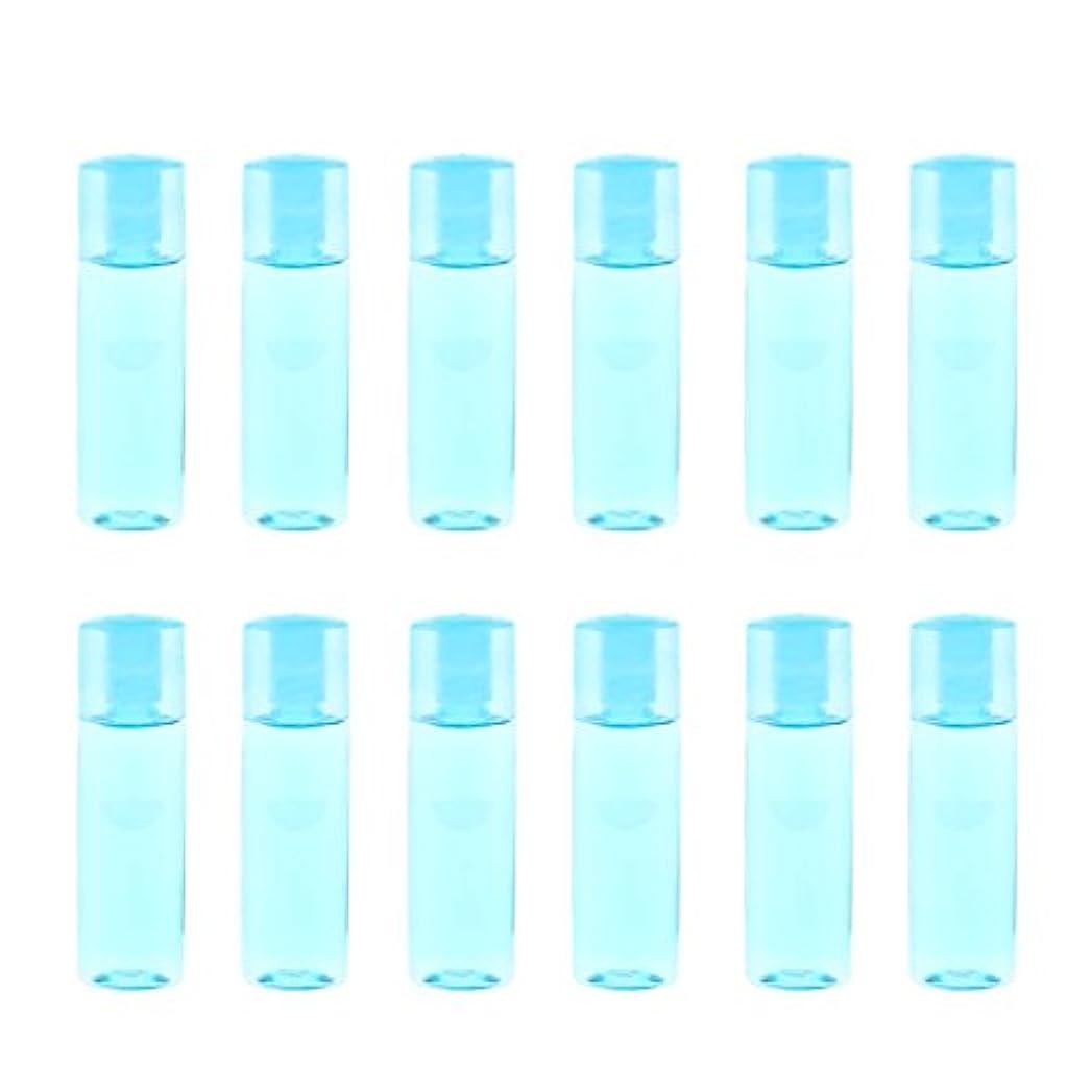 ウェイトレス殺します簡単なdailymall 12個のミニ詰め替え可能な空の目薬メイクアップ化粧品トラベルボトル15ml