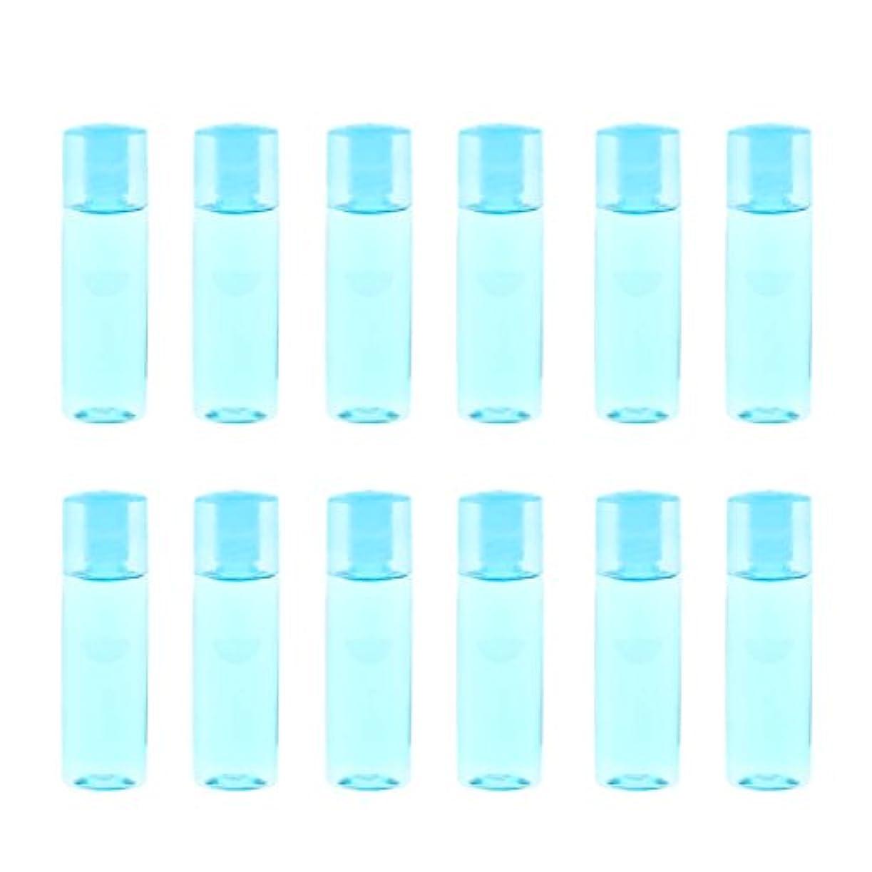 労苦有害なスパイラルdailymall 12個のミニ詰め替え可能な空の目薬メイクアップ化粧品トラベルボトル15ml