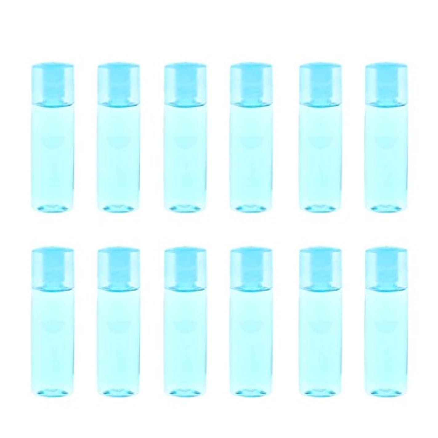 封筒無人親指dailymall 12個のミニ詰め替え可能な空の目薬メイクアップ化粧品トラベルボトル15ml