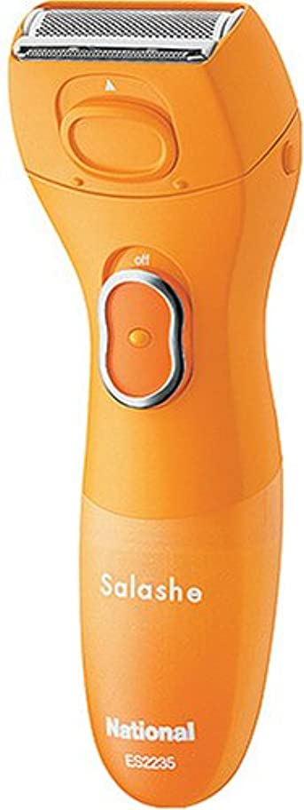 プロポーショナル影のある血統パナソニック サラシェ 全身シェーバー オレンジ ES2235P-D