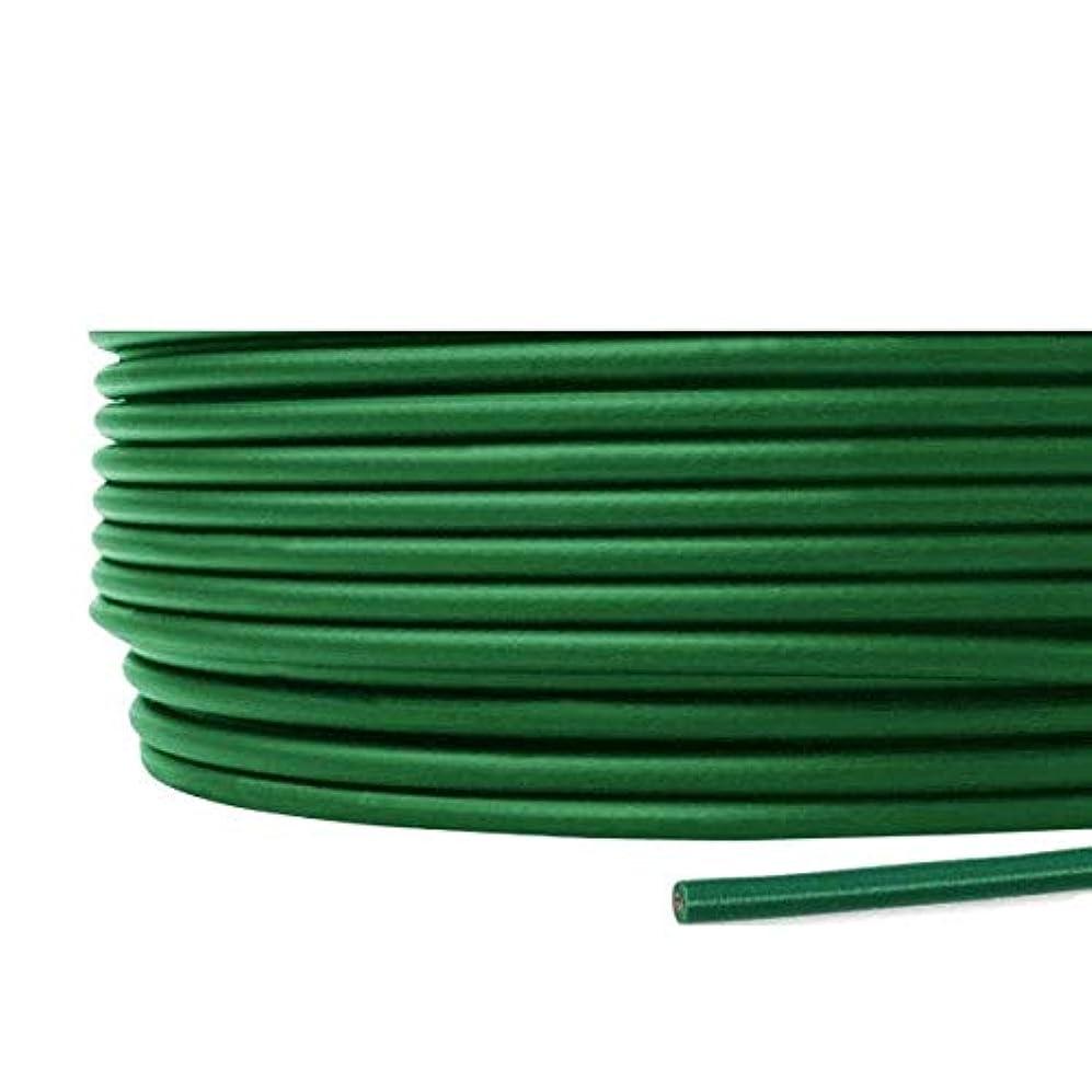 モチーフコークスタッチフジクラ KIV 8sq 緑 100m一巻 ケーブル 600V耐圧 電気機器用ビニル絶縁電線 KH