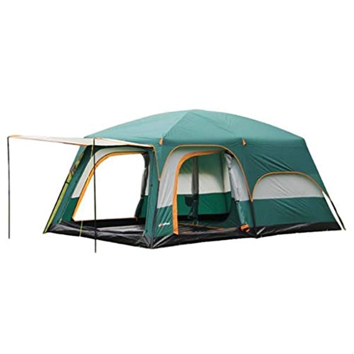 小間同化する同情的クイックシェード シェード テント キャンプサンシェルター、キャリングバッグ付きビーチ用防水X-ラージポータブル8人サンシェードインスタントテント、釣りハイキング用アンチUV