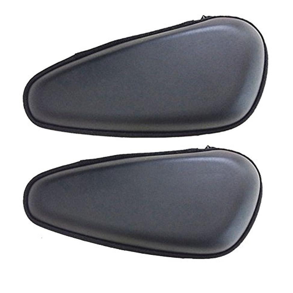 ローマ人経済死ぬHZjundasi 2x Travel Hard Case 保護バッグ For Philip シェーバー S5000/7000/9000
