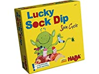 HABA Lucky Sock Dip - Spin cycle Bring Along Matching Game (Made in Germany) [並行輸入品]