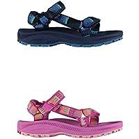 Official Brand Teva Hurrican 2 Sandals Infants Girls Flip Flop Thongs Beach Shoes