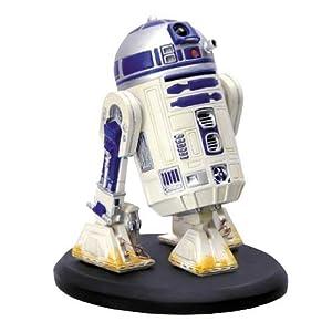 Star Wars スター・ウォーズ R2-D2 1/10 スケール 4インチ 陶器 彫刻 フィギィア 手塗り手作業作品 全世界1200体 限定生産品 並行輸入品