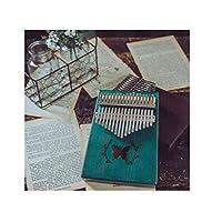 カリンバ、フィンガーエントリーの木製ピアノ、調節可能なギフト初心者携帯学生プライマリ17サウンド(スタイル1、から選択するスタイルのバラエティがあります) (Edition : Style 1)