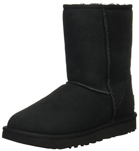 [アグ] ブーツ Classic Short II 1016223 Black US 8(25 cm) [並行輸入品]