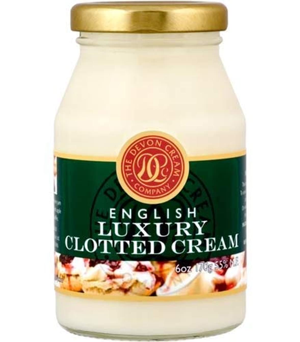 二次開発ラジカルThe Devon Cream Company Clotted Cream 6oz [並行輸入品]