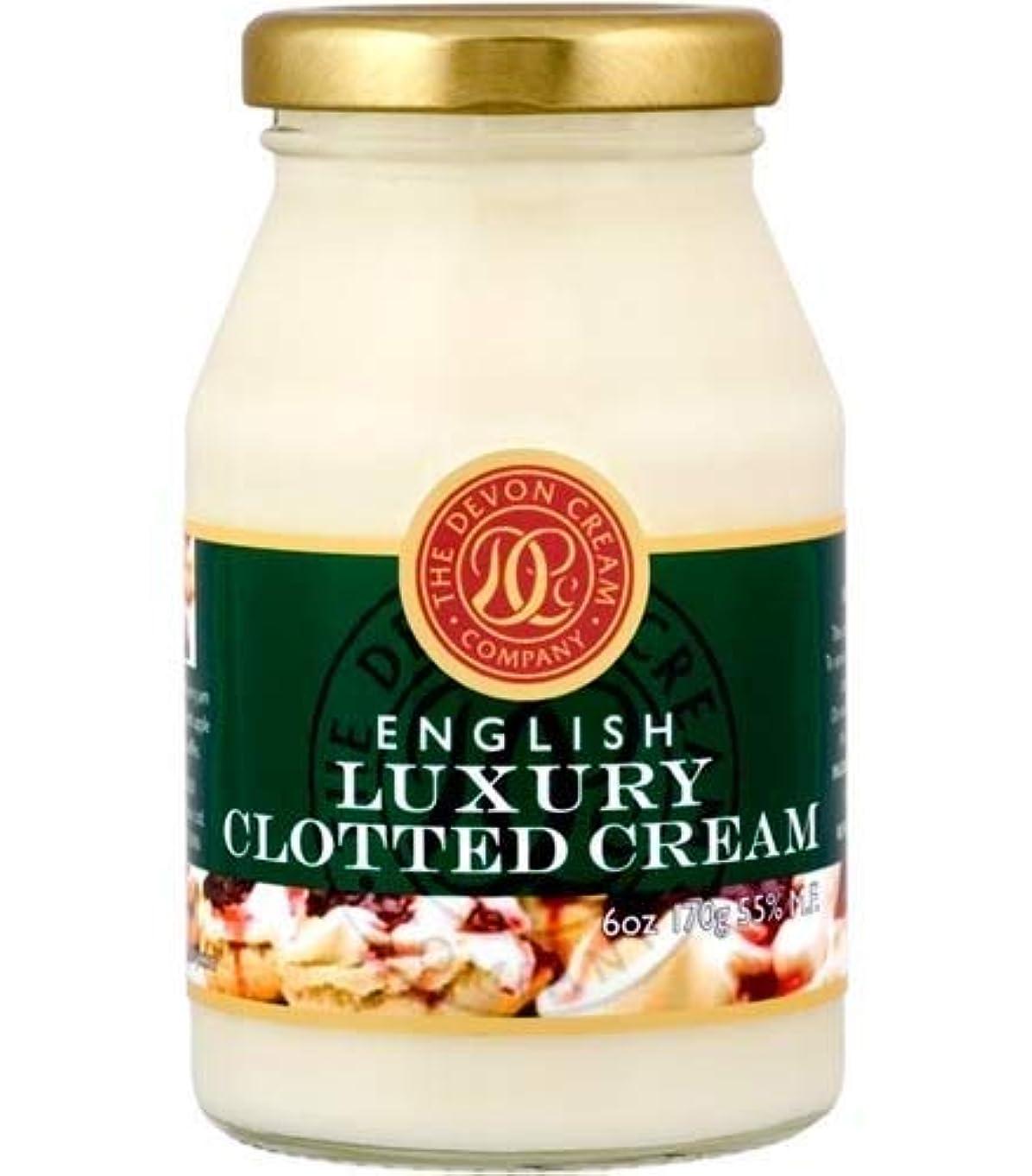 便利さ洪水刺激するThe Devon Cream Company Clotted Cream 6oz [並行輸入品]