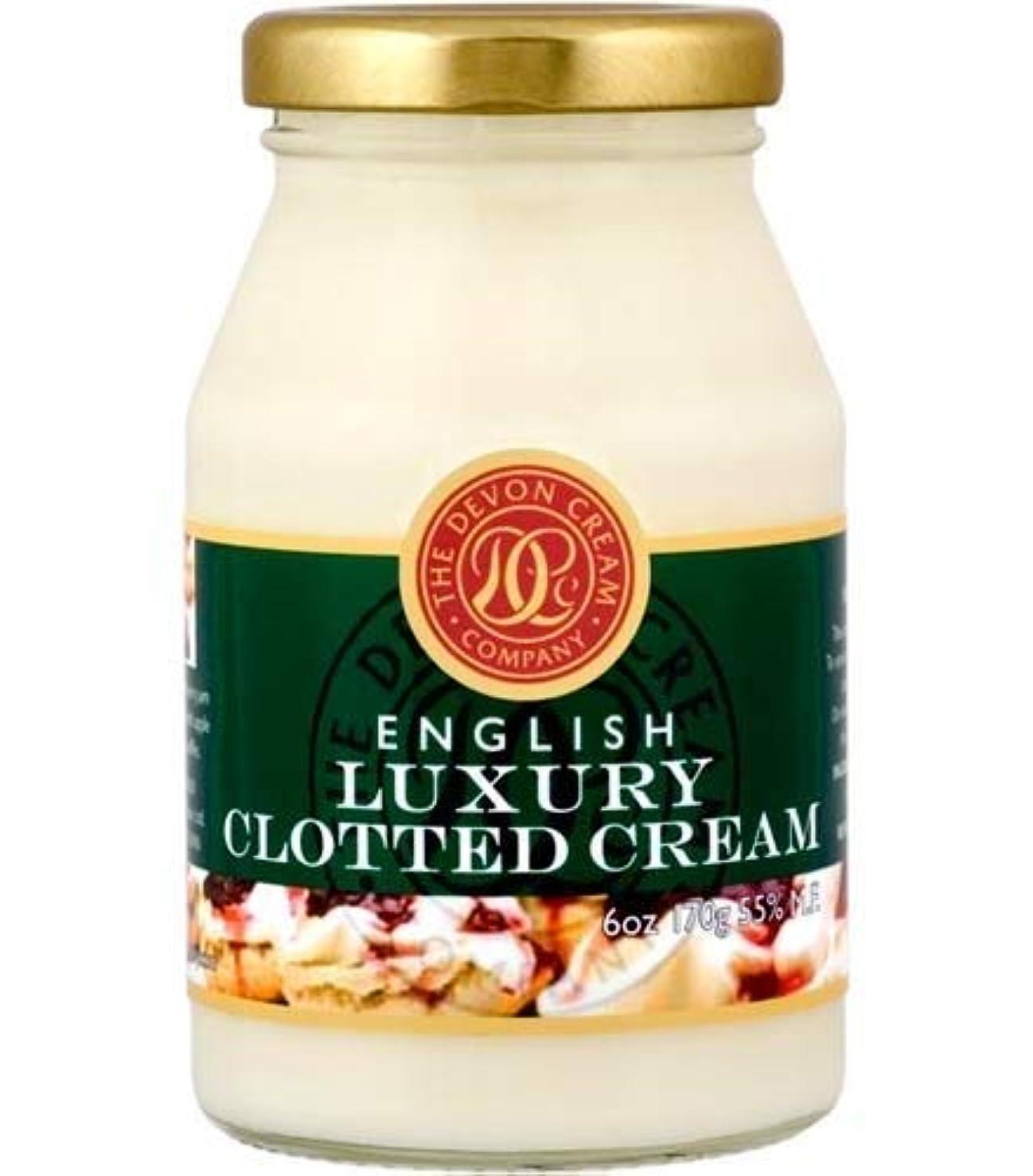イノセンス言い聞かせる適度にThe Devon Cream Company Clotted Cream 6oz [並行輸入品]
