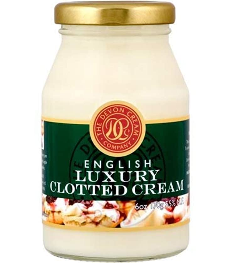 排泄する従来の効率的にThe Devon Cream Company Clotted Cream 6oz [並行輸入品]