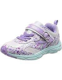 [瞬足] 运动鞋 上学用鞋 瞬足 防止扭曲 轻量 15~23cm 1E 儿童 女孩 LEC 5770