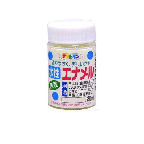 アサヒペン 水性エナメル速乾 アイボリー25ml