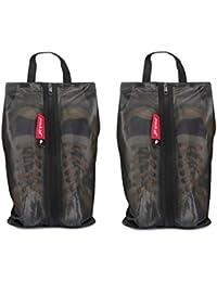 pack all シューズケース シューズバッグ 超軽量 防水素材 半透明 防塵 靴入れ 小物入れ 衣類入れ 収納バッグ 男女兼用 旅行 出張 スポーツ アウトドア 家庭用