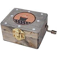 Balaiレトロミニケーキ音楽ボックスClassicalデスク装飾Clockworkスタイルミュージカルボックス