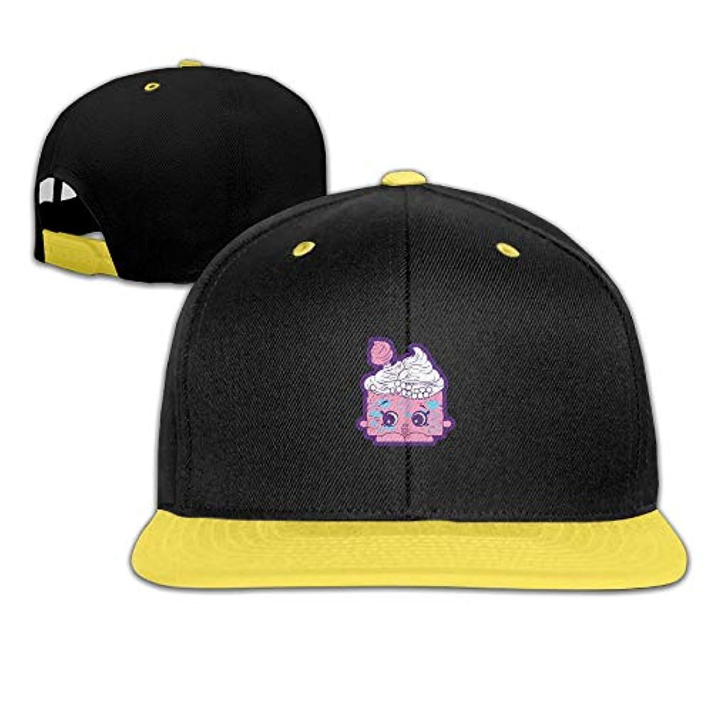 アイスクリーム かわいい ヒップホップ ハット スポーツ 野球帽 日焼け止め キャップ 子ども 帽子