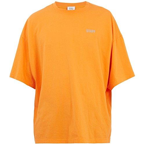 (ヴェトモン) Vetements メンズ トップス Tシャツ Staff-print jersey T-shirt [並行輸入品]