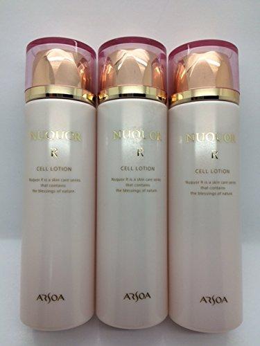 高い保湿で潤い実感!アルソア ヌクォル セルローション(化粧水)3本セット