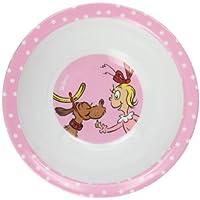 Bumkins Dr. Seuss Melamine Bowl, Pink Cindy Lu by Bumkins [並行輸入品]