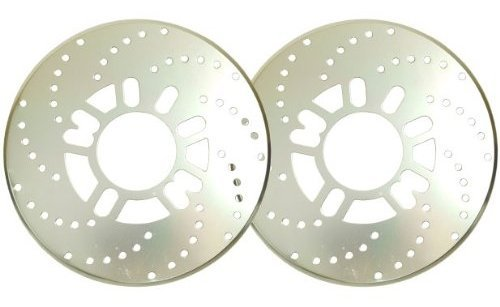 ディスクブレーキ 風 ドラム ブレーキカバー 2枚セット (...