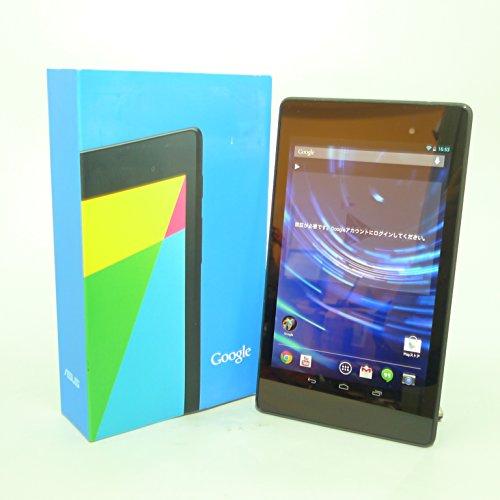 ★中古 タブレット★ ASUS Google Nexus 7 (2013) Wi-Fiモデル Tablet / Android 4.3 / CPU APQ8064 / 2GB / 16GB / Bluetooth / 7インチ フルHD / 元箱あり / ブラック(黒)