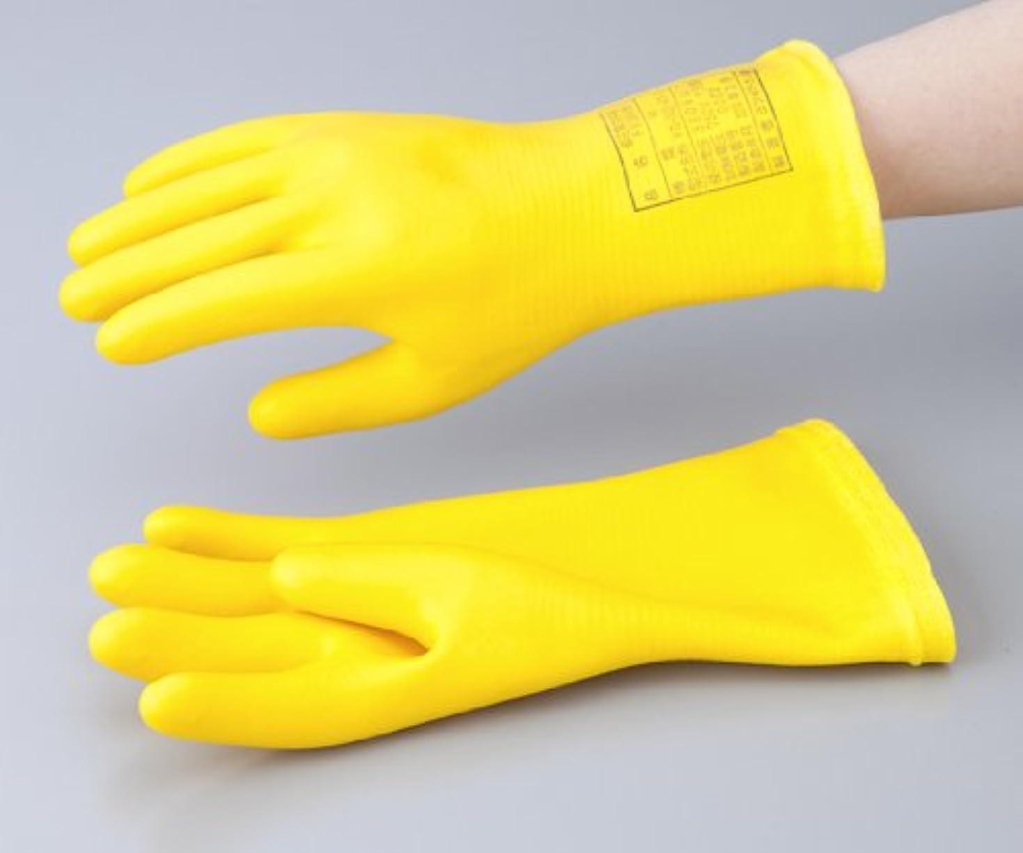 定説シンプルなスキム1-3686-03低圧用発泡手袋M