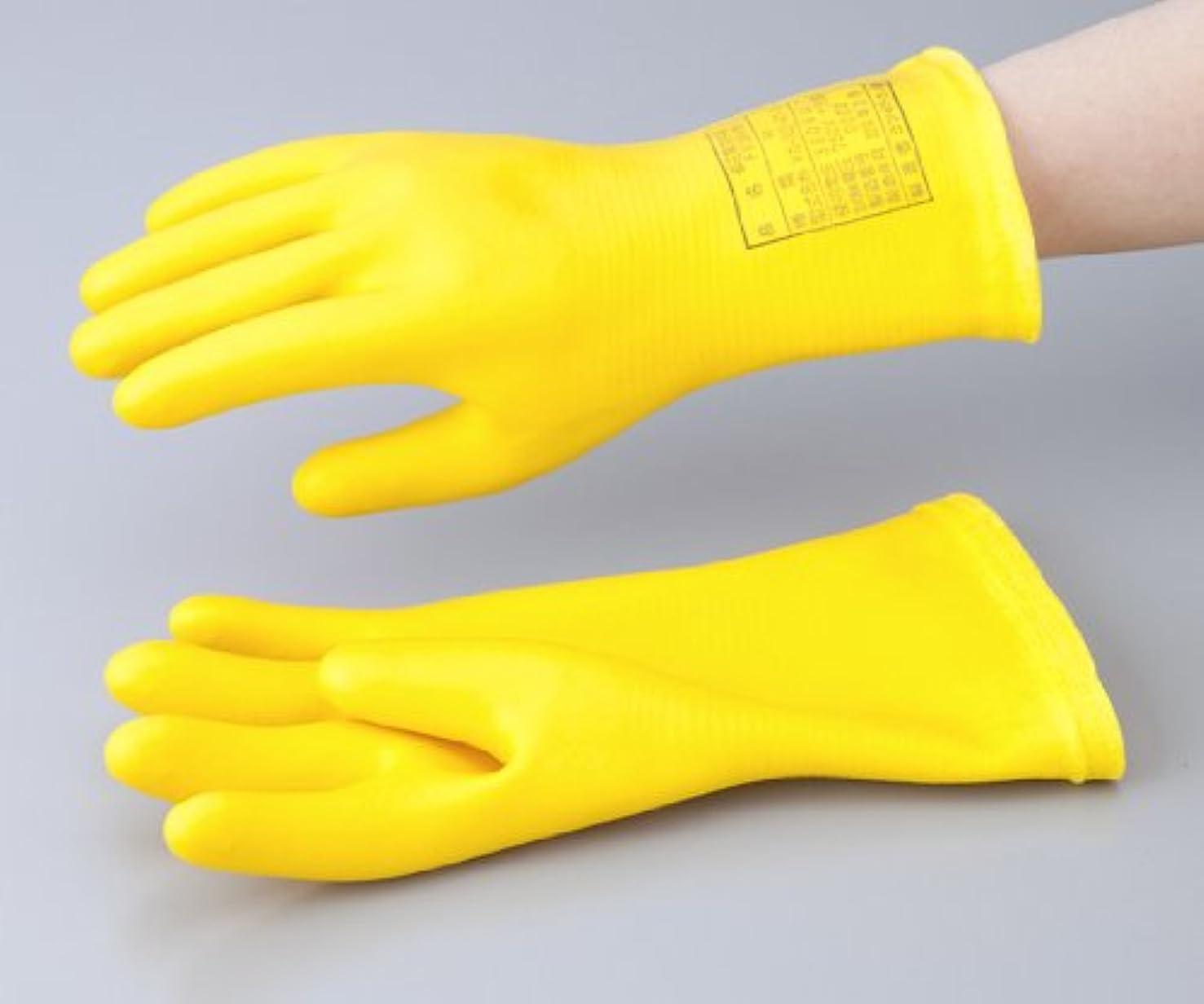 直接アンペア簡単な1-3686-03低圧用発泡手袋M