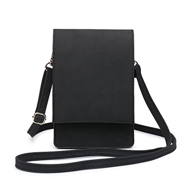 小さなショルダーバッグ、携帯も入れる女性クロスボディパースミニポーチ女性財布