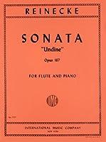 ライネッケ: フルート・ソナタ Op.167「ウンディーネ(水の精)」/インターナショナル・ミュージック社/ピアノ伴奏付ソロ