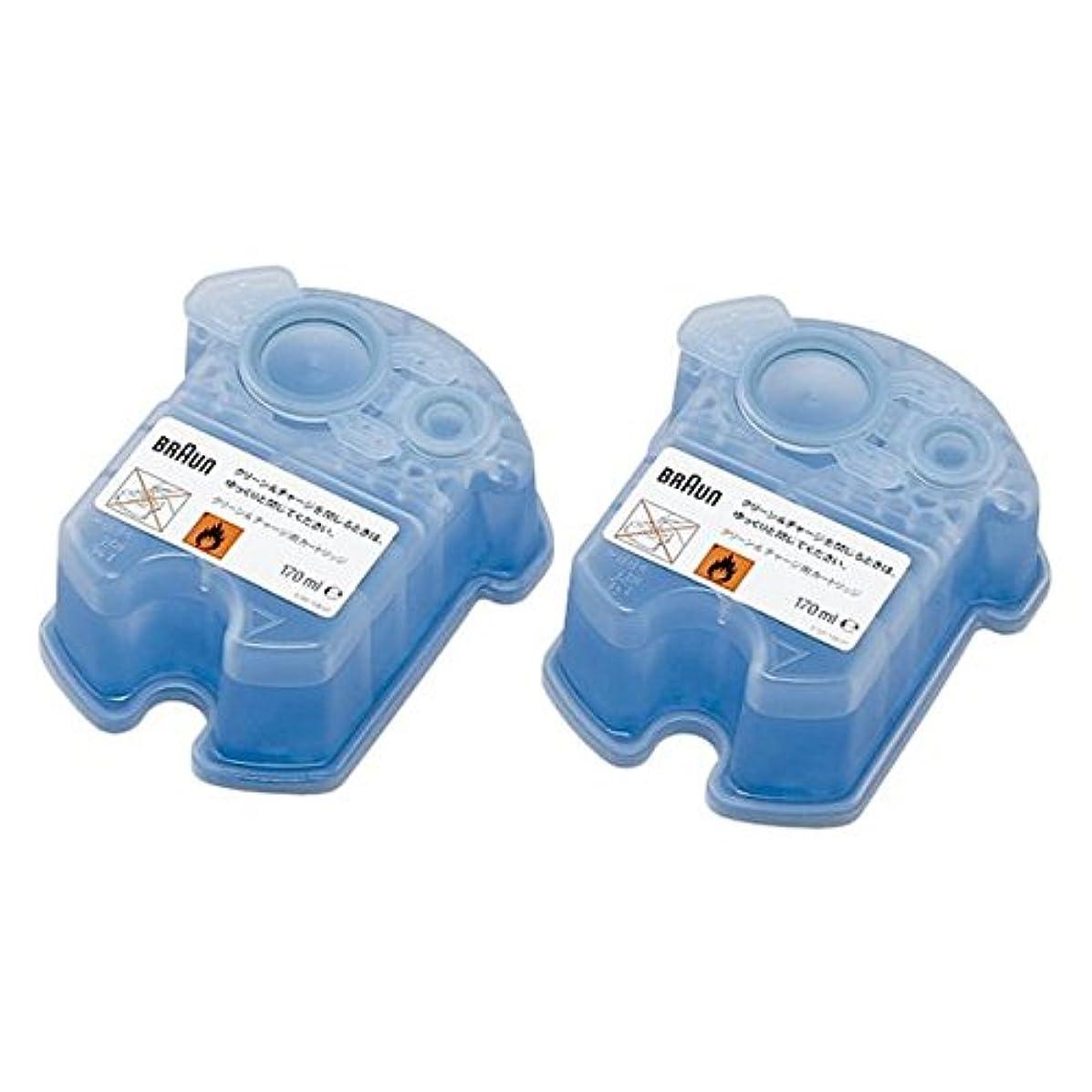 バーチャル顕現透けるBRAUN(ブラウン) クリーン&リニュー専用 洗浄液カートリッジ CCR2CR 2個入 家電 生活家電 [並行輸入品]
