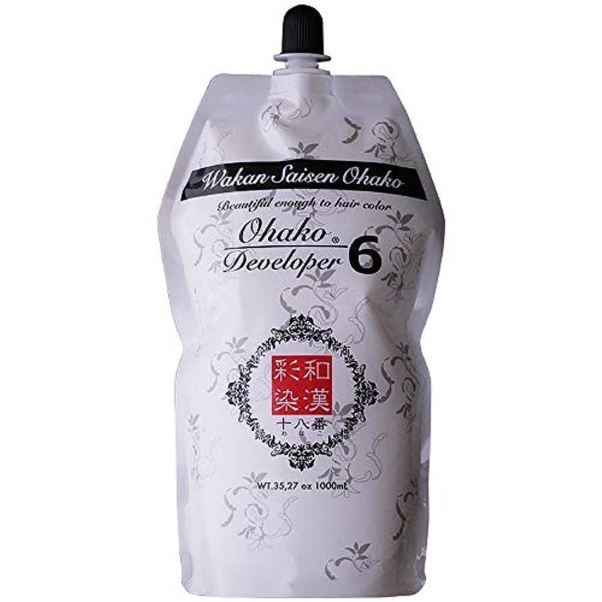 全く松の木王朝日本グランデックス 和漢彩染 十八番 デベロッパー 1000g(業務用) 全2種 6%