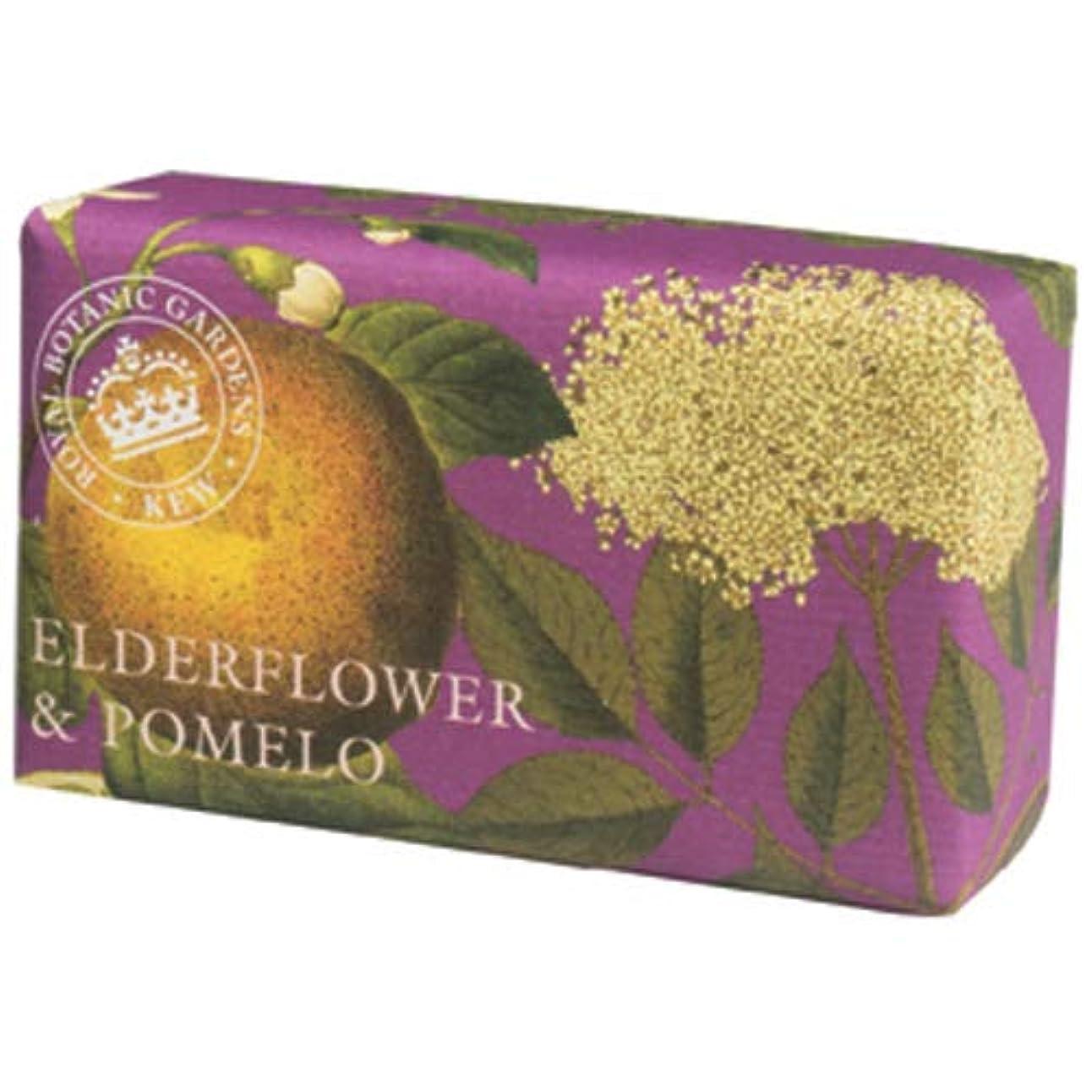 肥沃な筋肉のもっと少なくEnglish Soap Company イングリッシュソープカンパニー KEW GARDEN キュー?ガーデン Luxury Shea Soaps シアソープ Elderflower & Pomelo エルダーフラワー...