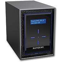 【Eコマース限定】 NETGEAR ネットワークストレージ(ディスクレスNAS)/2ベイ(10TBドライブ)/最大20TB/ホームオフィス向け ReadyNAS 422 RN42200-100AJS