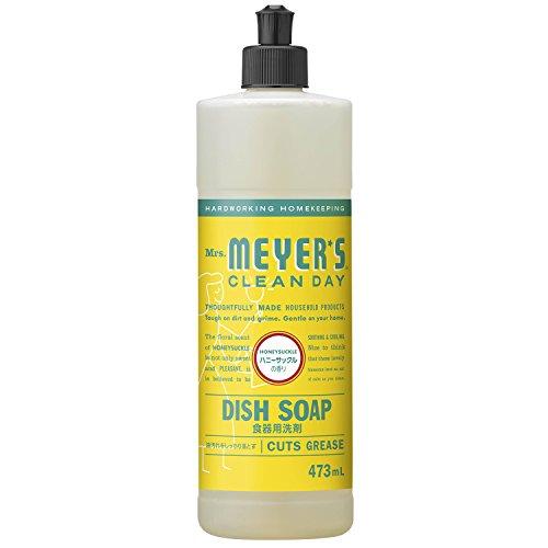 RoomClip商品情報 - ミセスマイヤーズ クリーンデイ(Mrs.Meyers Clean Day) 食器用洗剤 ハニーサックルの香り 473mL