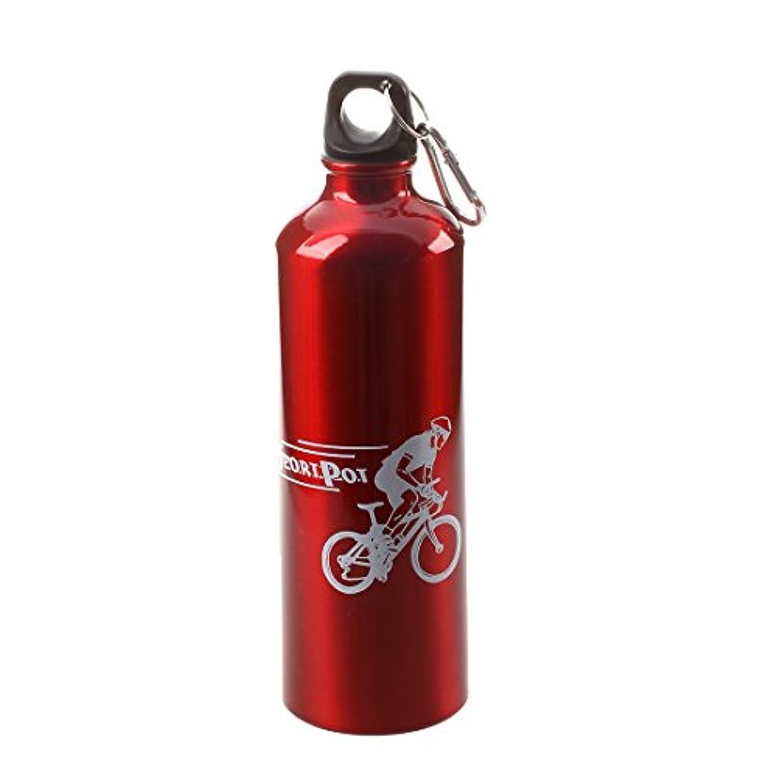 ピニオンバブルヒギンズRETYLY 水筒ウォーターボトルスポーツサイクリングキャンプレッドアルミ