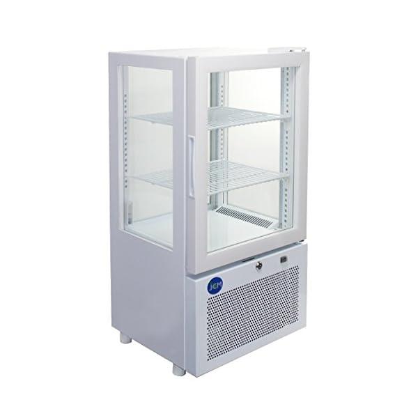4面ガラス冷蔵ショーケース【JCMS-58】 J...の商品画像