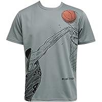 (井上雄彦 オフィシャルグッズ) SLAMDUNK スラムダンク Tシャツ 赤木 REJECTION Tee Gry バスケットボール
